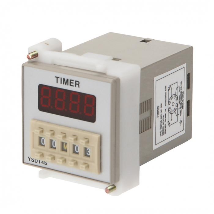 計時器YSDT4S-D2252-08P DC220V